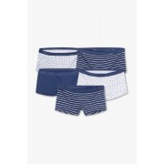 Here and There Boxershorts - biokatoen - set met 5 stuks
