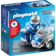 Motocicleta Politiei cu Led Playmobil