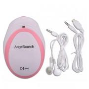 AngelSounds doppler ultrahangos magzati szívhang hallgató okostelefonhoz
