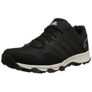 Adidas Outdoor Men's Kanadia 7 Gtx Trail Running Shoe Dark Grey/Black/Chalk White 7.5 D(M) US