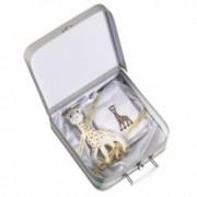 Jucarie pentru dentitie Girafa Sophie in valiza cadou