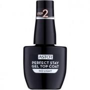 Astor Perfect Stay Gel Top Coat lac top de unghii cu textură gel, fără utilizarea lămpii UV/LED 001 12 ml