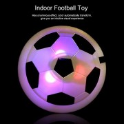 1 pieces Hover Ball Air Power Soccer Ball Colorful Disc Indoor Football Toy Multi-surface Hovering and Gliding Outdoor Toy