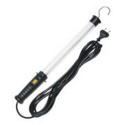 Brennenstuhl Lampe atelier avec interrupteur 320 lumen (8W, crochet pivotant, IP20, 5m de câble), Noir