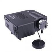 ZZH Inicio Proyector Multimedia Proyector LED para Puerto HDMI / VGA / SD / AV Premium US2.0 Oficina Comercial