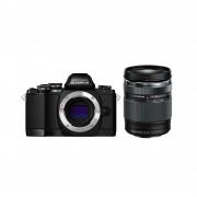 Olympus E-M10 II 14-150 Black crni E-M10II 1415 Kit blk/blk 14-150mm Mark II EZ-M4015 R black incl. Charger Battery Micro Four Thirds MFT - OM-D Camera digitalni fotoaparat V207054BE000 V207054BE000