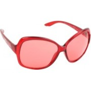Lee Cooper Over-sized Sunglasses(Red)