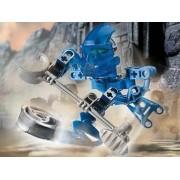 Lego Bionicle Matoran Mini Box Set Figure #8583 Hahli (Blue)