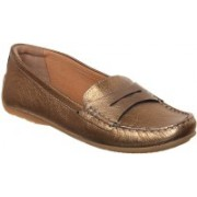 Clarks Loafers For Women(Gold)