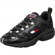 Tommy Jeans Heritage Retro Herren Schuhe schwarz Gr. 40,0