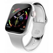 Smartwatch VeryFit W4 DIX00 WHITE cu Pedometru Monitorizare Ritm cardiac - Tensiune arteriala - Somn Notificari mesaje Prognoza meteo