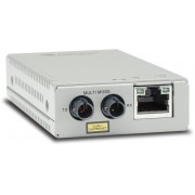 Allied Telesis Allied Telesis Mini Media Converter 10/100T to 100BASE-FX MM, ST connector