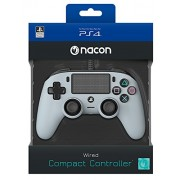 Playstation 4 (PS4) Nacon Wired Compact Controller (Gri) PS4
