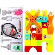 New Pinch combo of Doctor play set(classic) with 35pcs. Building Blocks for kids
