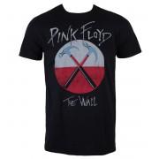 tricou stil metal bărbați Pink Floyd - The Wall Logo - LIVE NATION - PE13442TSBP
