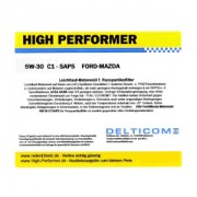 High Performer 5W-30 SAPS C1 Ford+Mazda+Volvo 208 Liter Fass