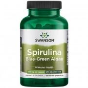 Swanson Spirulina Blue-Green Algae 500 mg 90 kapslí