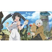 """Official Is It Wrong to Pick Up Girls in a Dungeon? (DanMachi) """"Bell & Hestia"""" Playmat"""