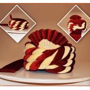Wedding Wear Maroon Velvet Groom Turban - 72511
