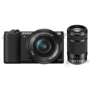 Sony Alpha 5100 fotoaparat kit (16-50mm + 55-210mm objektiv), black