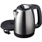 Lagom Cordless Stainless Steel Tea Heater with Auto Shut Off & Boil Dry Protection Electric Kettle (kettle RC-1013) Electric Kettle(1.8 L, Silver)