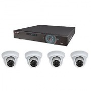 Dahua HDCVI 4Channel Kit 1 DVR HCVR5104H 4 Dome HAC-HDW1100SP Combo