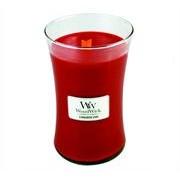 Woodwick Cinnamon Chai Large Jar Retail Box No