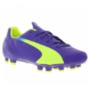 Puma voetbalschoenen Evospeed 4.3 FG Jr paars mt 28