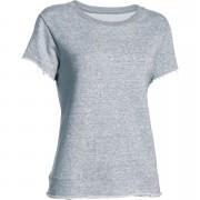 Under Armour Women's Studio Boxy Crew T-Shirt - Grey - XS - Grey
