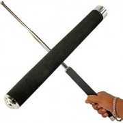 GJTL Security Self Defense System Telescopic Iron Baton Folding Stick