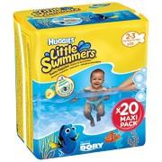 > HUGGIES * Little Swimmer 3 - 8 Kg 20 Pezzi