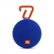 SPEAKER, JBL Clip 2, водоустойчив безжичен портативен спийкър с микрофон за мобилни устройства, Син (26368)