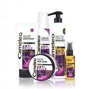 Set tratament pentru par cret Delia Cosmetics Anti Frizz