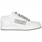 Jimmy Choo Scarpe sneakers donna in pelle miami