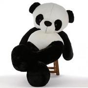 CLICK4DEAL 5 Feet Giant Stuffed/Spongy/Huggable Cute Panda Teddy Bear High Quality - 152 cm