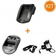 Kit Incarcator Power3000 pentru acumulator Nikon tip EN-EL5 + Bonus adaptor auto