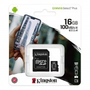 Kingston 16Gb Micro Sdhc Canvas 100Mb/S Sdcs2/16Gb