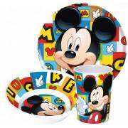Mickey egér mintás étkészlet