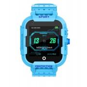 Ceas Inteligent pentru copii WONLEX KT12 4G Albastru, cu GPS, apelare video, rezistent la apa, localizare WiFI si monitorizare spion