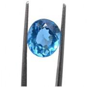 4.08 Ratti Best quality Blue Topaz stone Lab Certified