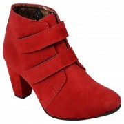 Exotique Women's Red Boots