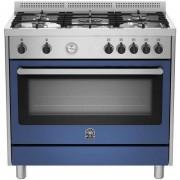 La Germania Ris95c71bxb Cucina 90x60 5 Fuochi A Gas Forno A Gas Ventilato Con Gr