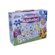 Puzzle Grafix Alfabetul vesel, muzical, 30 de piese