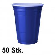 StudyShop 50 Stück Blaue Becher (Blue Cups 16 oz.)