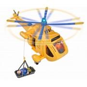 Elicopterul Wallaby 2 cu figurina Pompierul Sam