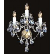 Crystal wall sconce 4031 03/12HK-669SW