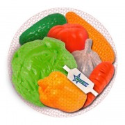 Набор Овощи, 7 предметов в сетке 434