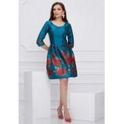 Dara Dress-turcuaz
