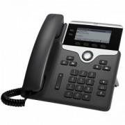 Cisco UC Phone 7821 Nu- Nu- SIP- 10/100- nu contine sursa - se alimenteza prin switch PoE sau sursa optionala-- CP-7821-K9=- Da