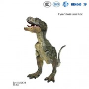 Rex Jurassic World Dinosaur Park Realistic Animal Model Action Figure Collectible Toy